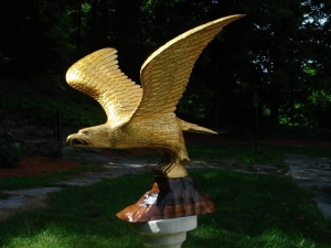 John Shortell Carved Eagle
