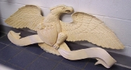 Carved Eagle John Shortell