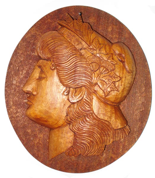 Another Liberty Head Carving – From the Morgan Dollar