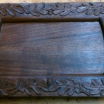Something Different: ACarved Serving Tray