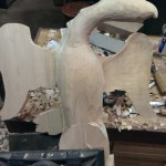Carving an Eagle in the Round (part 2)
