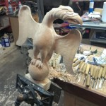 Carving an Eagle in the Round (part 4)
