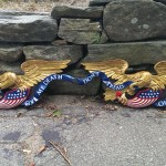 A Pair of Boston Carving Company Eagles