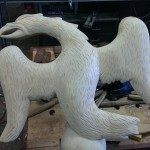 Carving an Eagle in the Round (part5)
