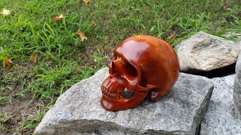 Another Carved Human Skull