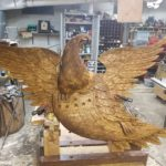 Large Bellamy Eagle–Finishing Up
